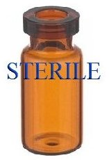 Open 2mL Sterile Depyrogenated Serum Vials